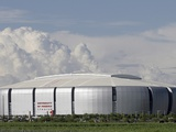 Arizona Cardinals--University of Phoenix Stadium: Phoenix, ARIZONA - The University of Phoenix Stad Photographic Print by Paul Connors