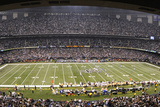 Giants Saints Football: New Orleans, LA - Louisiana Superdome Panorama Print by Bill Feig