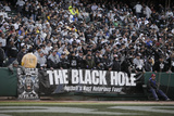 Redskins Raiders Football: Oakland, CA - The Black Hole Prints by Marcio Jose Sanchez