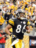 Browns Steelers Football: Pittsburgh, PA - Hines Ward Lámina fotográfica por Don Wright