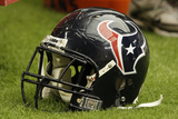Texans Cardinals Football: Glendale, AZ - Houston Texans Helmet Photographic Print by Ross D. Franklin