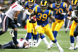 Texans Rams Football: , MO - Steven Jackson Photo by Tom Gannam