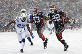 Colts Bills Football: Orchard Park, NY - Fred Jackson Photographic Print by David Duprey