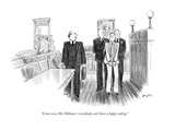 """Come now, Mr. Hillman—everybody can't have a happy ending."" - New Yorker Cartoon Premium Giclee Print by Charles Saxon"