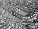 WRIGLEY FIELD: CHICAGO, ILLINOIS - The Bears at Wrigley Field Photographic Print