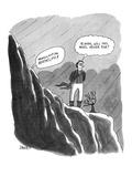 Heathcliff! Oh, Heathcliff!' - New Yorker Cartoon Premium Giclee Print by Jack Ziegler