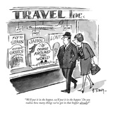 """""""'We'll put it in the hopper, we'll put it in the hopper.' Do you realize …"""" - New Yorker Cartoon Premium Giclee Print by Barney Tobey"""
