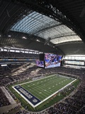 Dallas Cowboys--Cowboys Stadium: Arlington, TEXAS - Cowboys Stadium Fotografisk trykk av Sharon Ellman