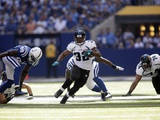 Jaguars Colts Football: Indianapolis, IN - Maurice Jones-Drew Photographic Print by AJ Mast