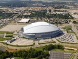 Cowboys Eagles Football: Philadelphia, PA - Cowboys Stadium Photographic Print by Matt Slocum