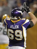Packers Vikings Football: Minneapolis, MINNESOTA - Jared Allen Plakater