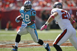 Panthers Buccaneers Football: Tampa, FL - Jonathan Stewart Photographic Print