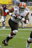 Browns Steelers Football: Pittsburgh, PA - Joshua Cribbs Photographic Print by Tom E. Puskar
