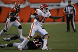 Chiefs Bengals Football: Cincinnati, OH - Jamaal Charles Photographic Print by Ed Reinke