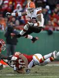 Browns Chiefs Football: Kansas City, MO - Josh Cribbs Photo av Charlie Riedel