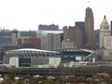 Cincinnati Bengals--Paul Brown Stadium: CINCINNATI, OHIO - Paul Brown Stadium Photo by Al Behrman