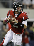 Falcons Cowboys Football: Arlington, TX - Matt Ryan Photographic Print by Tony Gutierrez
