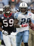 Texans Titans Football: Nashville, TN - Chris Johnson Posters av Wade Payne