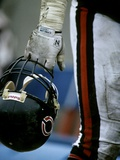NFL Historical Imagery: Bears Helmet Photographic Print