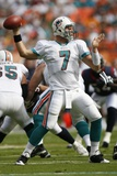 Texans Dolphins Football: Miami, FL - Chad Henne Photographic Print by Wilfredo Lee