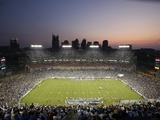 Packers Titans Football: Nashville, TN - LP Field Photographic Print by Mark Humphrey