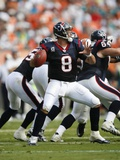 Texans Dolphins Football: Miami, FL - Matt Schaub Photographic Print by Wilfredo Lee