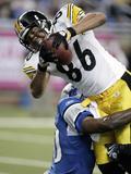 Steelers Lions Football: Detroit, MI - Hines Ward Photo av Duane Burleson