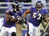 Eagles Ravens Football: Baltimore, MARYLAND - Ed Reed Fotografisk trykk av Gail Burton