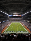 Saints Texans Football: Houston, TX - Reliant Stadium Photographic Print by Dave Einsel