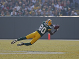 49ers Packers Football: Green Bay, WI - Donald Driver Photographic Print by Matt Ludtke
