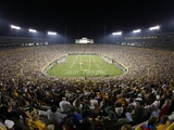 Green Bay Packers--Lambeau Field: Green Bay, WISCONSIN - Lambeau Field Fotografisk trykk av Jim Prisching