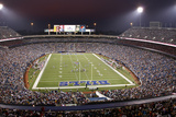 Bears Bills Football: Orchard Park, NY - Ralph Wilson Stadium Panorama Photographic Print by David Duprey