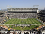 NFL Concept Shots and Isolated: ,  - The Oakland Colliseum Print