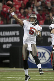 Buccaneers Falcons Football: Atlanta, GA - Josh Freeman Plakater av Dave Martin