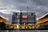 Chargers Steelers Football: Pittsburgh, PA - Heinz Field Panorama Fotografisk trykk av Don Wright