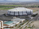 University Of Phoenix Stadium Football: Glendale, AZ - University of Phoenix Stadium Photographic Print by Ross D. Franklin