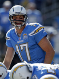 Chiefs Chargers Football : San Diego, CA - Philip Rivers Photographic Print by Lenny Ignelzi
