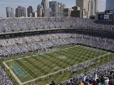 Eagles Panthers Football: Charlotte, NC - Bank of America stadium Photographic Print by Nell Redmond