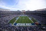 Jets Chargers Football: San Diego, CA - Qualcomm Stadium Plakater av Jeff Chiu