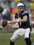 Titans Chargers Football: San Diego, CALIFORNIA - Phillip Rivers Photographic Print by Lenny Ignelzi