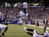 APTOPIX Broncos Colts Football: Indianapolis, IN - Antoine Bethea Photographic Print by Michael Conroy