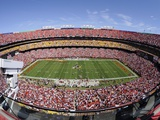 Rams Redskins Football: Landover, MD - FedEx Field Fotografisk trykk av Nick Wass