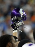 Vikings Lions Football: Detroit, MI - Viking Pride Photographic Print by Carlos Osorio