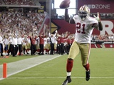 49ers Cardinals Football: Glendale, AZ - Frank Gore Photographic Print by Paul Connors