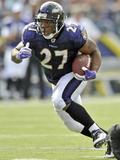 Browns Ravens Football: Baltimore, MD - Ray Rice Photographic Print by Gail Burton
