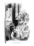 """Pardon me, Miss Plunkett."" - New Yorker Cartoon Premium Giclee Print by Garrett Price"