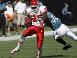 Chiefs Jaguars Football: Jacksonville, FL - Jamaal Charles Photo av Phil Coale