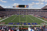 Browns Bills Football: Orchard Park, NY - Ralph Wilson Stadium Panorama Photographic Print by Mike Groll