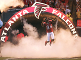 Atlanta Falcons Football: Pittsburgh, PA - Roddy White Photographic Print by Don Wright