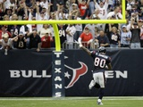 Saints Texans Football: Houston, TEXAS - Andre Johnson Fotografisk trykk av David J. Phillip